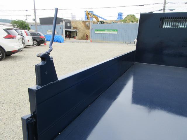 ロングドカロクダンプ 3トン  新明和DR2-90SY 荷寸310-160-31 低床 3方開 左電格ミラー(11枚目)