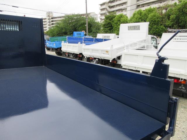 ロングドカロクダンプ 3トン  新明和DR2-90SY 荷寸310-160-31 低床 3方開 左電格ミラー(12枚目)