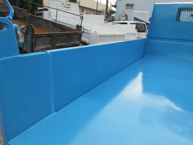 ダンプ 3トン 高床 5MT 極東製DD02-31 強化ダンプ 集中ロック 荷台内寸(約)L304-W159-H36 4000CC 10尺デッキ(11枚目)