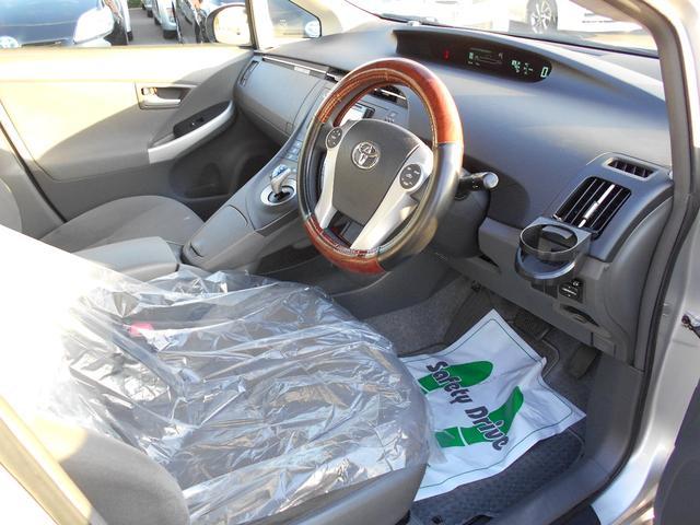 トヨタ プリウス L 社外ナビ・ETC・オートライト付き