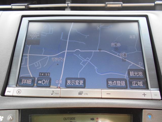 トヨタ プリウス S バックカメラ・純正ナビ・フルセグTV・ETC付き