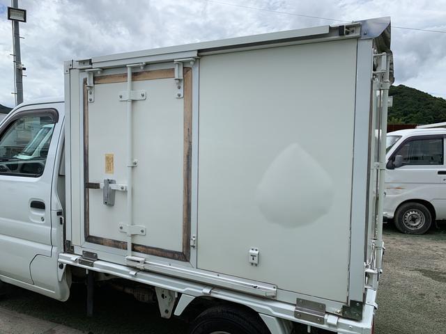 冷蔵冷凍車 5MT AC PS 走行76800K 点検整備済(9枚目)