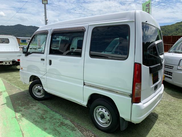 「スバル」「サンバーバン」「軽自動車」「和歌山県」の中古車16