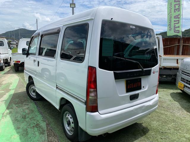 「スバル」「サンバーバン」「軽自動車」「和歌山県」の中古車17