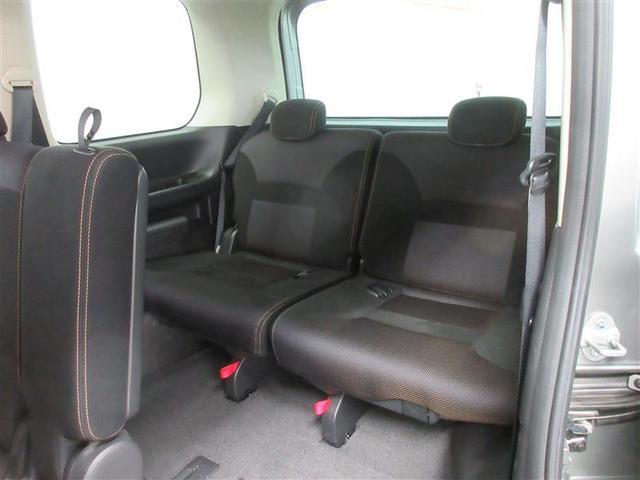 サードシートは3人掛けです。