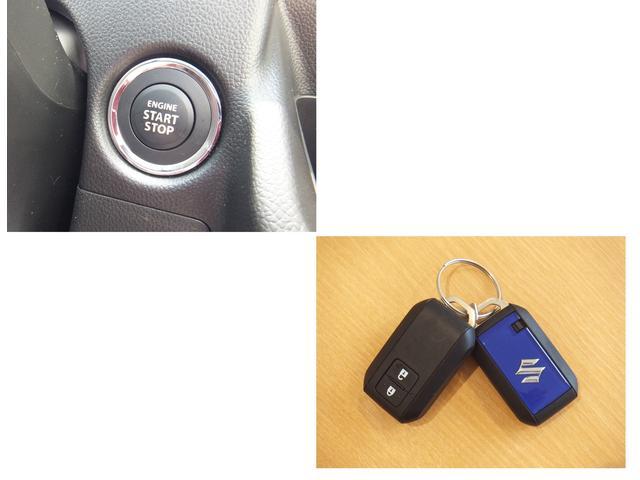 携帯リモコンを持っていればドアの施錠・解除はリクエストスイッチを押すだけ。エンジン始動もスマートに。