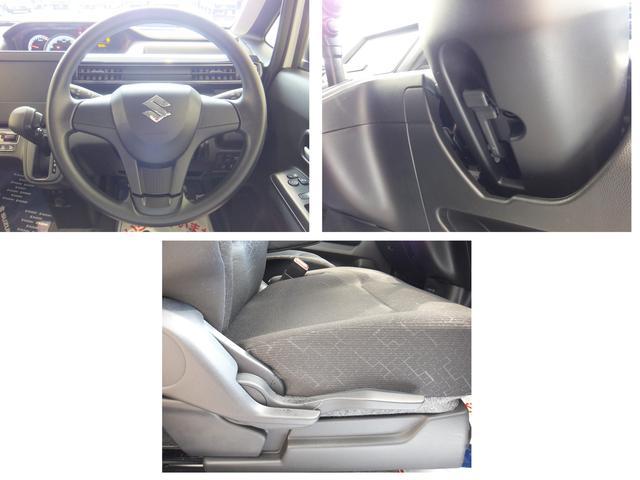 運転席シートリフターとチルトステアリングで運転しやすいシート・ハンドル位置に合わせることができます!
