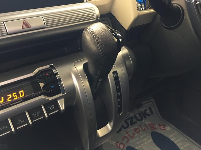 インパネシフト採用で前席ウォークスルー化を実現 運転席と助手席の移動がスムーズに行えます