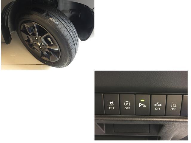 コーナーなどでタイヤがスリップしそうになると必要に応じて自動的にブレーキをかけるESP装着車