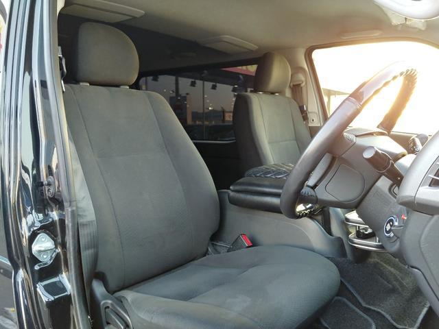 ロングスーパーGLプライムセレ 社外プッシュスタート・カロッツェリア7インチナビ・カロッツェリアツイーター・HIDヘッドライト・革巻きコンビハンドル・オートエアコン・ETC車載器・両側スライドドア(11枚目)