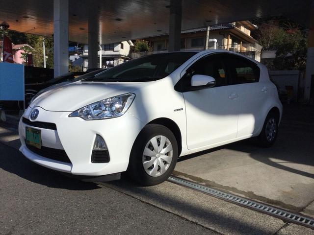 「トヨタ」「アクア」「コンパクトカー」「和歌山県」の中古車3