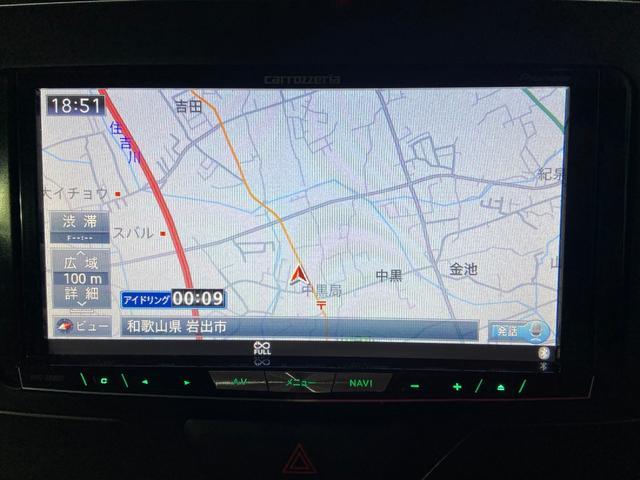 X SA片側パワースライド・ナビ・フルセグ・BT・ETC(9枚目)