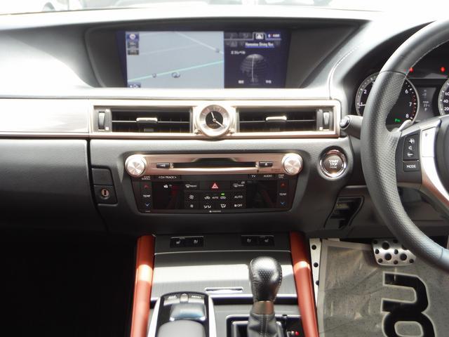 レクサス GS GS250 Fスポーツ HDDナビ地デジ 本革 SR