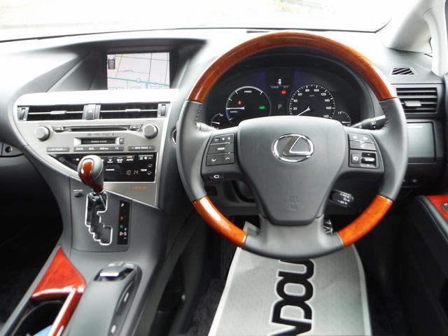 レクサス RX RX450h バージョンL HDDナビ地デジ 黒本革