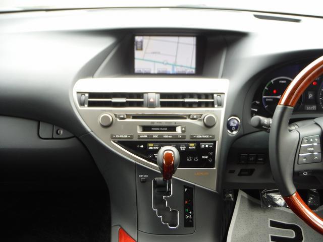 RX450h バージョンL HDDナビ地デジ 黒本革(9枚目)