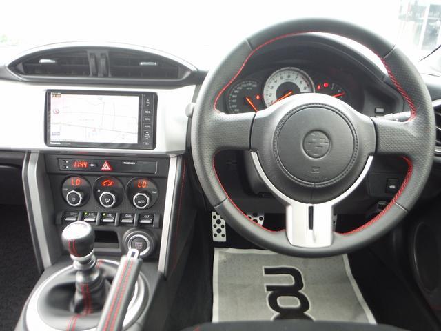 トヨタ 86 GT 6速MT HDDナビ地デジ TRDエアロ
