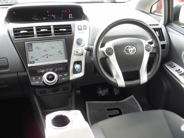 トヨタ プリウスアルファ Sツーリングセレクション HDDナビ地デジ