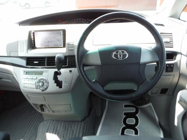 トヨタ エスティマ アエラス HDDナビ地デジ 左側自動ドア