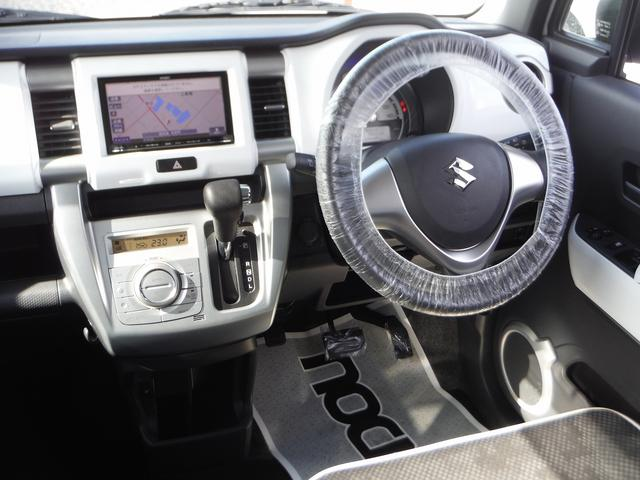 G 社外メモリーナビ&ワンセグ・スマートキー・シートヒーター オートエアコン・ライトレベライザー・アイドリングストップ・プライバシーガラス・Wエアバッグ・ABS(8枚目)