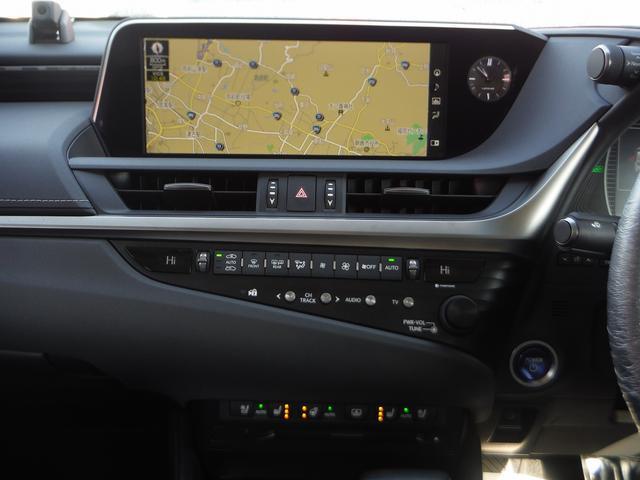 ES300h 純正SDナビマルチ・黒革エアーS・サンルーフ プリクラッシュセーフティ・LTA・クリアランスソナー・LEDライト・オートハイビーム・電動リヤシェイド・ビルトインETC(9枚目)