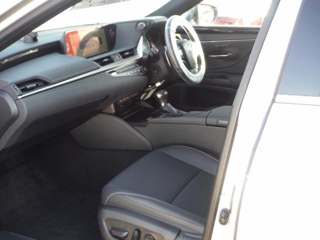 ES300h 純正SDナビマルチ・黒革エアーS・サンルーフ プリクラッシュセーフティ・LTA・クリアランスソナー・LEDライト・オートハイビーム・電動リヤシェイド・ビルトインETC(17枚目)