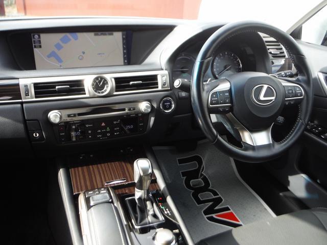 GS450h Iパッケージ 純正SDナビマルチ・黒革エアーS パワートランク・LEDライト&フォグ・プリクラッシュセーフティ・レーダークルーズ・LTA・オートハイビーム・パドルシフト・ハンドルヒーター(7枚目)