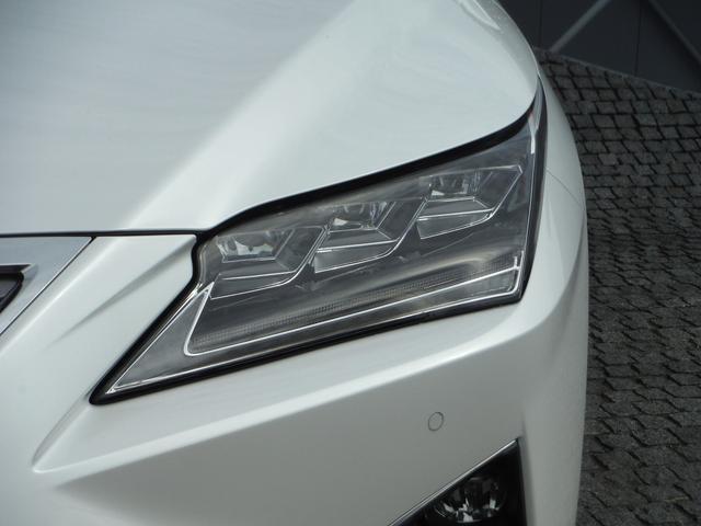 RX450h バージョンL 純正SDナビマルチ・本革エアーS パノラミックビューモニター・マークレビンソン・パワーバックドア・プリクラッシュセーフティ・レーダークルーズ・BSM・三眼LEDライト(48枚目)