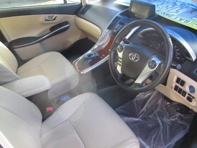 トヨタ SAI S HDDナビ バックカメラ パワーシート シートカバー
