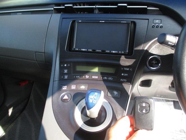 トヨタ プリウス S メモリーナビ ETC プッシュスタート スマートキー