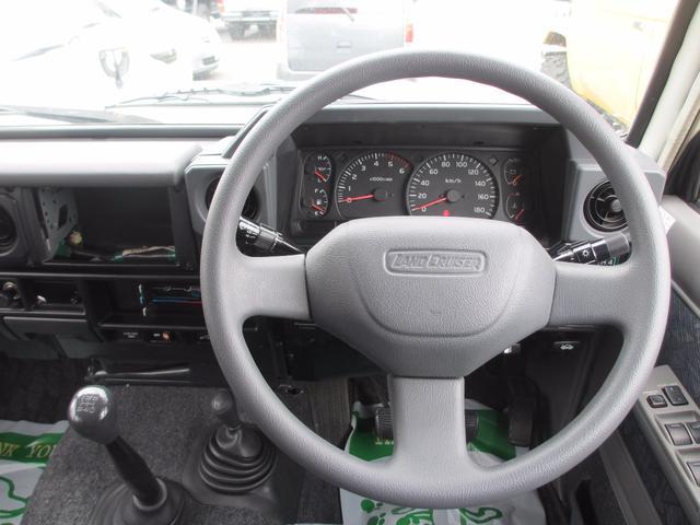 トヨタ ランドクルーザー70 ZXロング 5速MT 社外アルミ サンルーフ