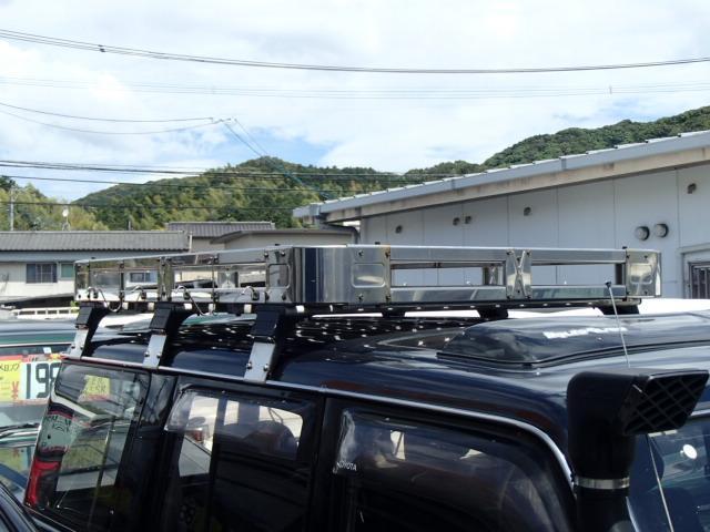 トヨタ ランドクルーザー70 ZXロング 社外足廻り リフトUP 社外アルミ サンルーフ