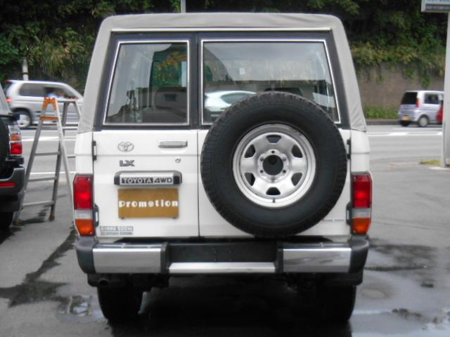トヨタ ランドクルーザー70 LX ホロ