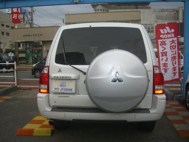 三菱 パジェロ ロング スーパーエクシード サンルーフ レザー ナビTV