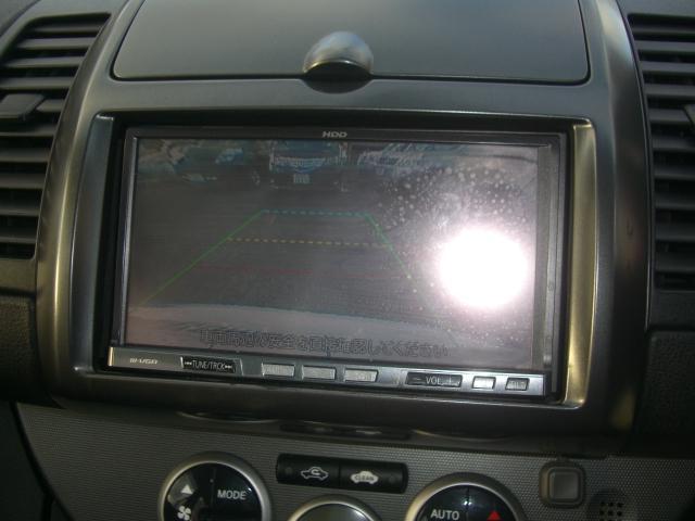 日産 ノート 15RS エアロスタイル HDDナビTV HIDライト付き