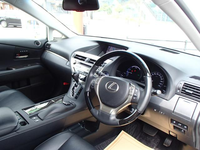 レクサス RX RX450h バージョンL パワーバックドア 本革エアシート