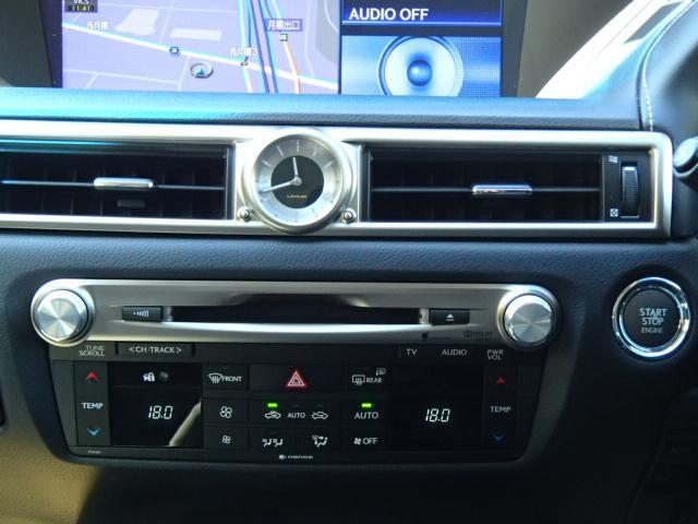 レクサス GS GS350 バージョンL 黒革エアシート LEDヘッドライト