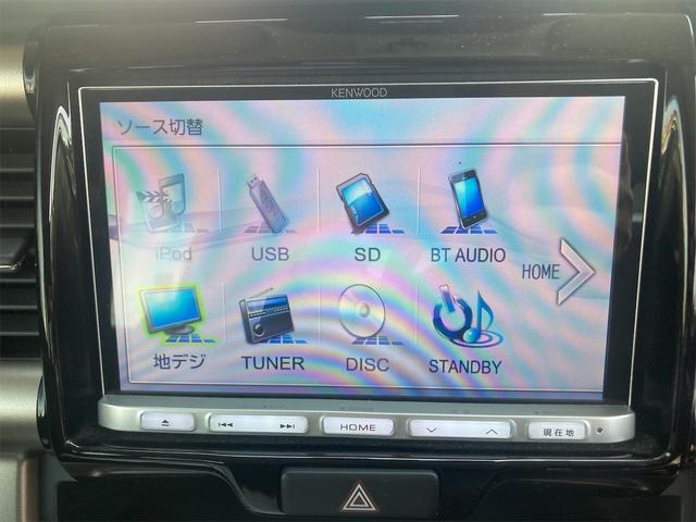 JスタイルIIターボ ワンオーナー 社外ナビTV ドラレコ ETC レーダーブレーキ 4WDターボ(5枚目)