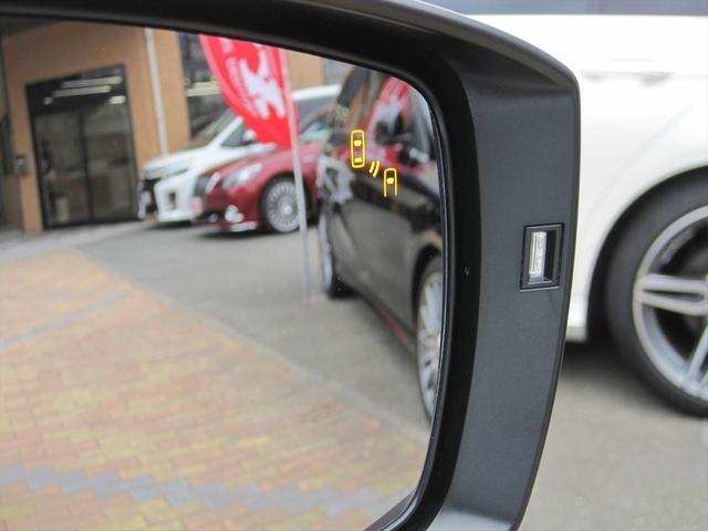 リヤビークルディテクション付き!左右の死角に他の車両がいる場合に、ウィンカーを出し、車線変更しようとすると、警告してくれます!事故を防いでくれるアイテムです!