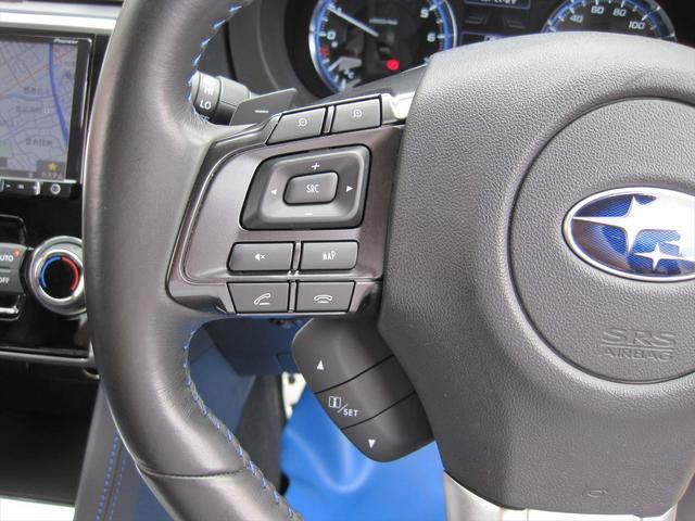 ステアリングスイッチ付き!ハンドルには、ナビやオーディオと連動したスイッチが付いています!手元で操作出来る為、大変便利ですよ♪純正ナビの嬉しいポイントですね♪