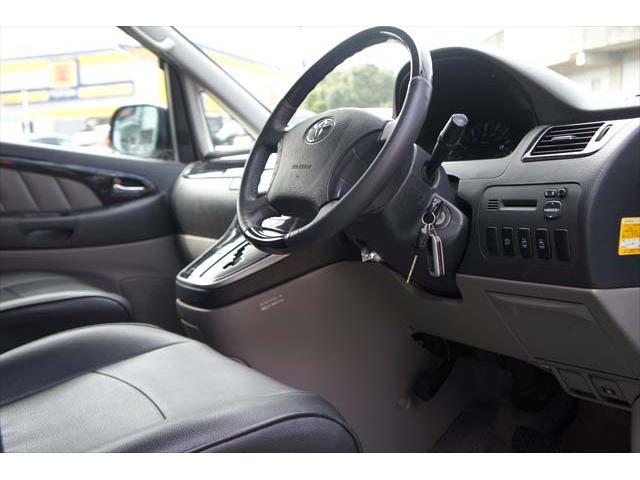 トヨタ アルファードV ASリミテッド両側自動ドア社外ナビフリップダウンモニター