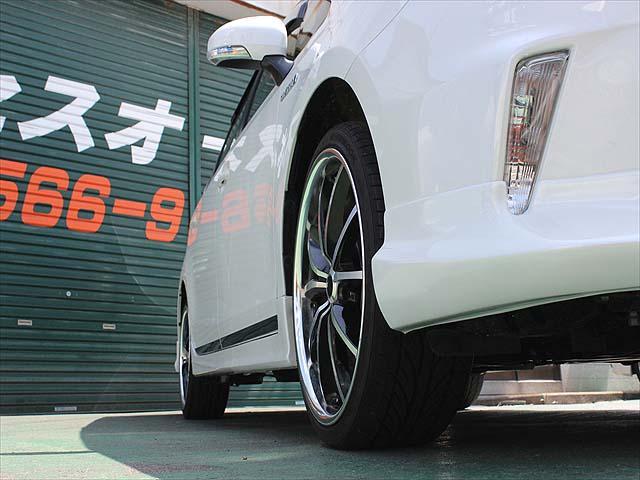 G フルエアロ・レーベンハート19インチアルミ・革調シートカバー・8インチHDDナビ・バックカメラ・ビルトインETC・LEDヘッドライト・ヘッドライトウォッシャー・1年間走行距離無制限保証(15枚目)