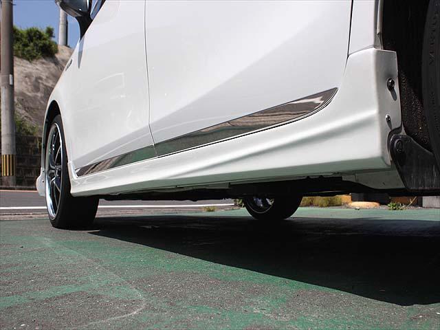 G フルエアロ・レーベンハート19インチアルミ・革調シートカバー・8インチHDDナビ・バックカメラ・ビルトインETC・LEDヘッドライト・ヘッドライトウォッシャー・1年間走行距離無制限保証(43枚目)