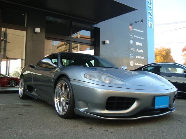 フェラーリ フェラーリ 360 モデナF1 左ハンドルD車フルエアロ社外19インチAW
