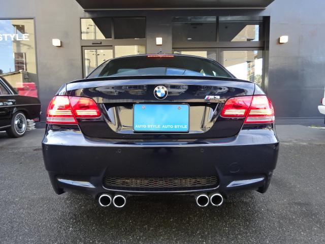 BMW BMW M3クーペ黒本革6速MTM3専用アルミHIDバックカメラ
