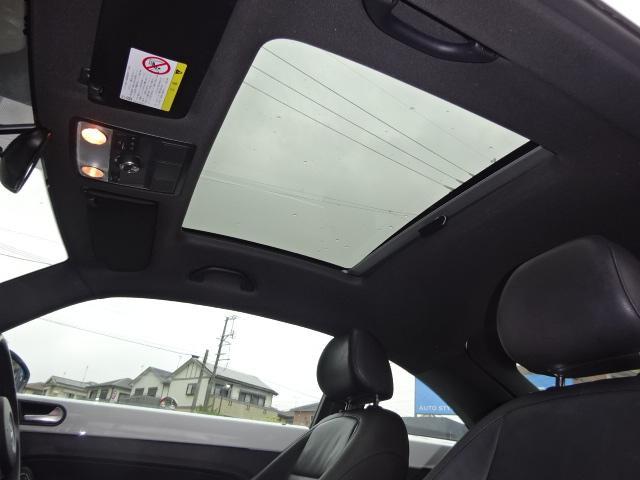 フォルクスワーゲン VW ザ・ビートル デザインレザーPKG禁煙車サンルーフ黒本革SDナビ地デジ
