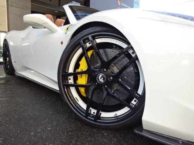 フェラーリ フェラーリ 458スパイダー F1DCTコーンズD車デイトナSPクラフトMLBエアロ
