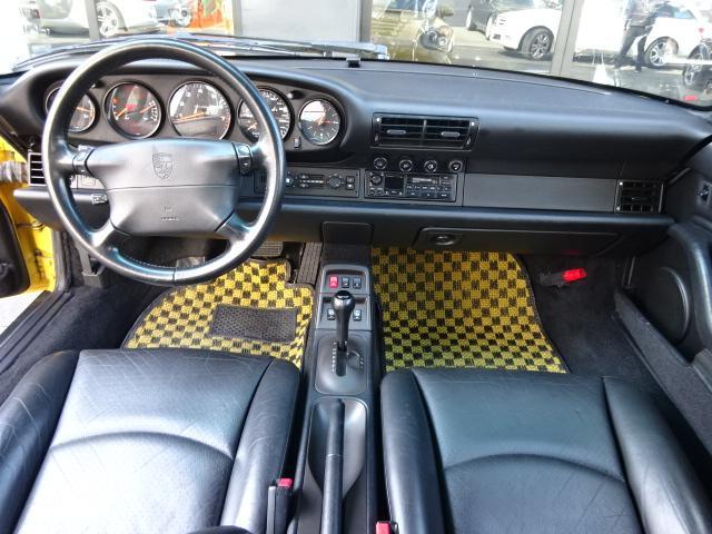 ポルシェ ポルシェ 911カレラRSルック黒レザーSRウィング禁煙車整備記録簿