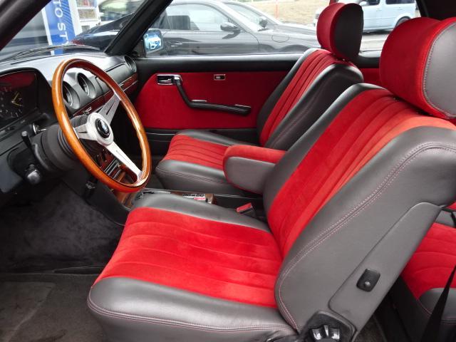 280CE D車ウエスタン サンルーフ ハーフ革 ウッドP(10枚目)