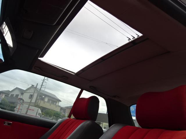 280CE D車ウエスタン サンルーフ ハーフ革 ウッドP(17枚目)