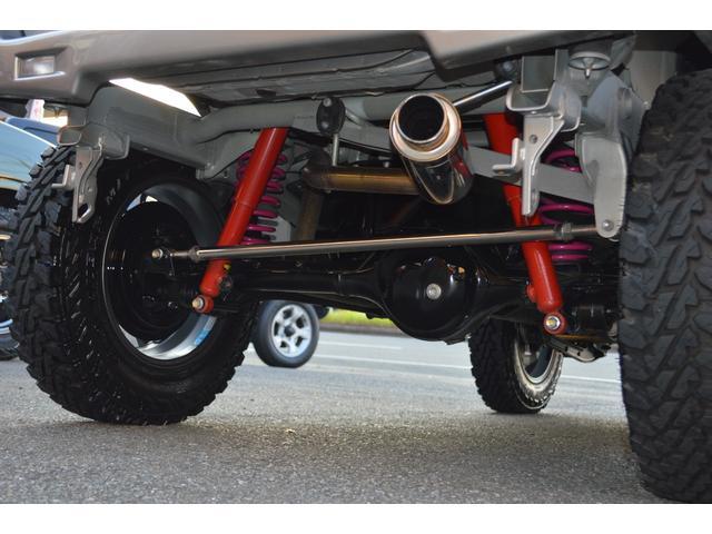 ランドベンチャー 最終10型 スージースポーツ2インアップキット TANIGUCHIステンレスマフラー RAYSグラムライツ ジオランダーMT185 LEDテール ETC カロッツエリアナビ&フルセグTV(19枚目)